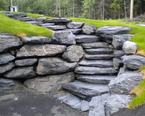 mur de roches 2